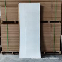 GO-F01 White Primer school doors 80 inch interior composite doors turkish wood doors