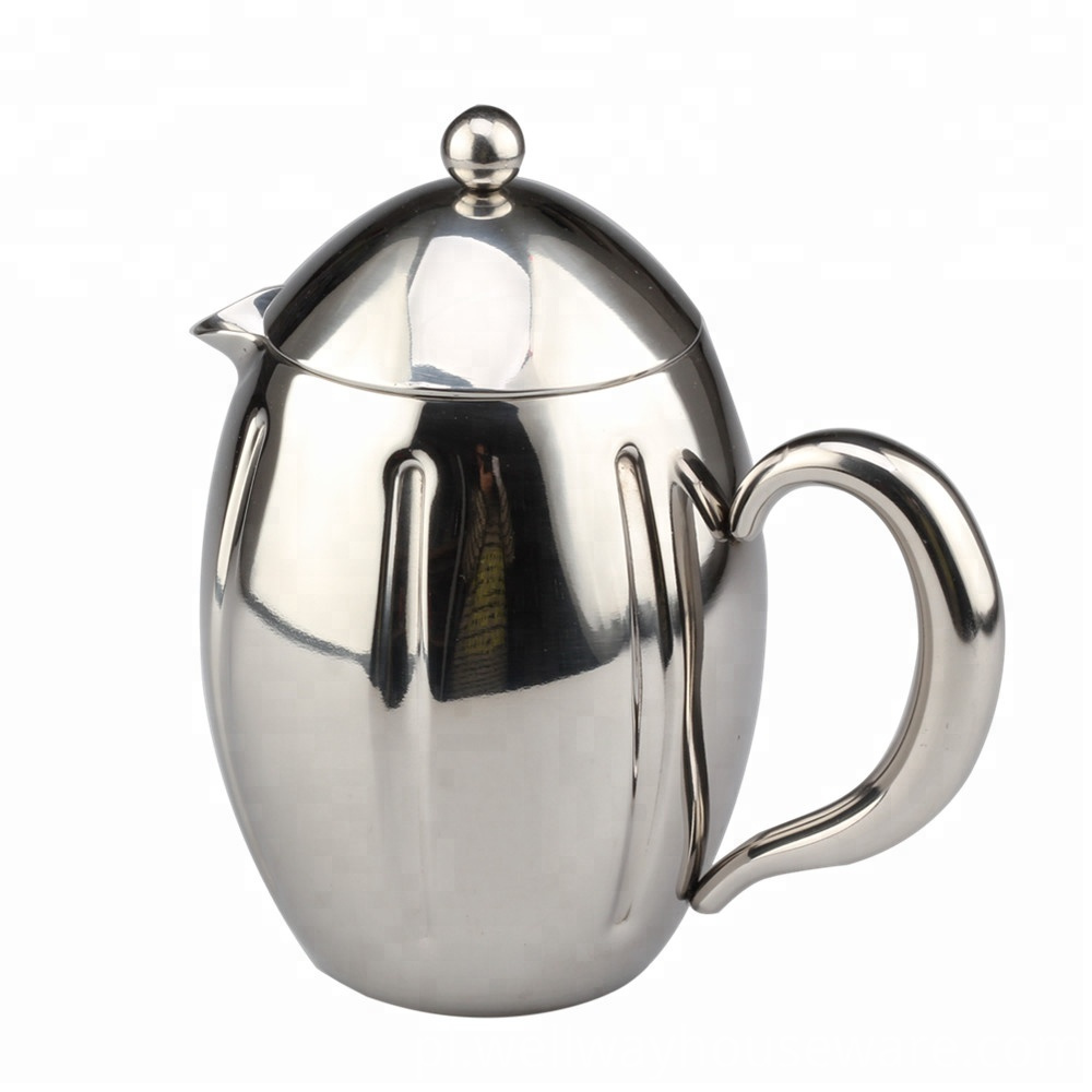 Double Wall Stainless Steel Coffee Tea Makers