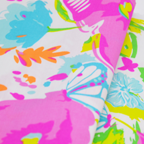 100% Cotton Printed Fabric for Dresses