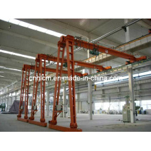 Semi Single Girder Gantry Crane for Workshop (SSGC-02)