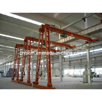 Grue à portique demi-poutre pour atelier (SSGC-02)
