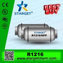 Перфторпропилен (HFP R1216) / C3F6 для огнетушителя, а также поставщик r227ea