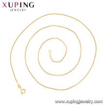 44372 xxxx alibaba simples projeto do ouro longas cadeias de jóias colar de materiais de Cobre Ambientais