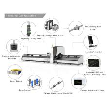 Machines de découpe de tube laser à fibre abordable