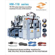 Máquina de moldeo por inyección para fabricar zapatos para suela de TPU