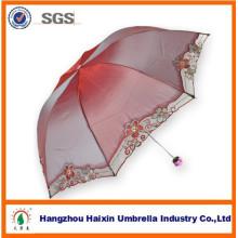 Mode Design ändern Farbe Dame Regenschirm für Euro-Markt