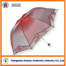 Fashion Design Change Color Lady Umbrella for Euro-Market