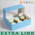 Alibaba 2017 new design FSC food grade paper made euro market cheap price cupcake boxes