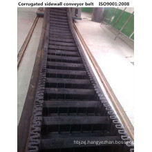 XE+2 Sidewall Corrugated Rubber Conveyor Belt