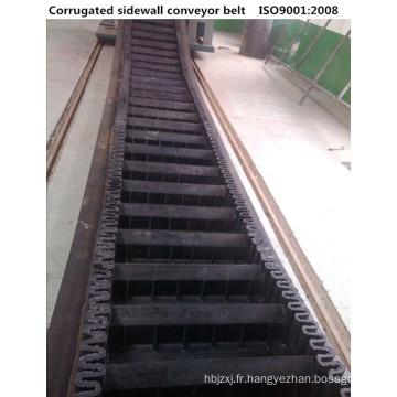 Courroie transporteuse ondulée WK80 Sidewall