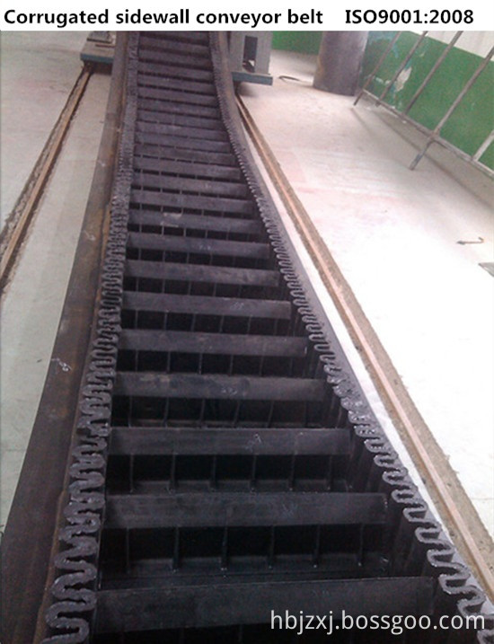 Sidewall conveyor belt 1