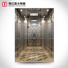 ZhuJiangFuJi (Titanium & Etched Decoration Inside)Passenger Elevator For Sale
