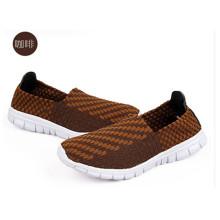 Autumn Couple Models Woven Shoes