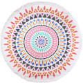 Hotel Pool Towels Colorful Printed Round Beach Towel