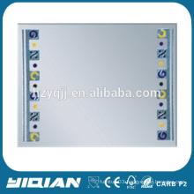 Rectangle shape new design custom framed bathroom mirrors