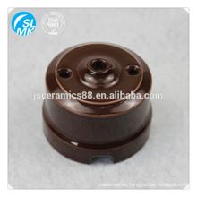 brown ceramic wall switch socket alumina parts