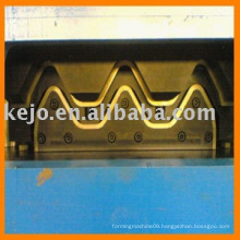china highway guardrail galvanized w beam roll forming machine