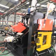 Linha de produção de flange de aço de ângulo CNC XT