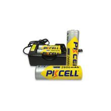 Chargeurs de batterie de 3.7V pour la batterie 18650 rechargeable