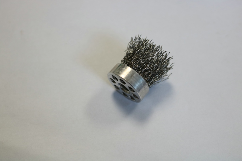 brush sample of Steel Wire Brush Machine