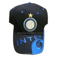 Пользовательские футбольная кепка с логотипом вышивки