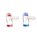 Economical custom design plastic tap water bibcock