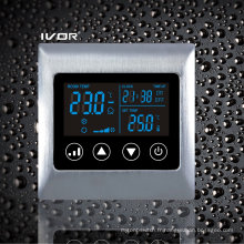 Interrupteur tactile thermostatique à deux pièces en métal (SK-AC2000L8-2P-N)