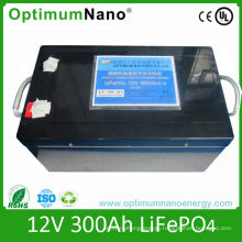 Deep Cycle 12V 300ah LiFePO4 Battery for UPS, Solar/Wind System, Backup Power