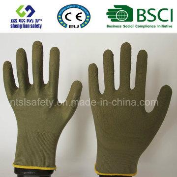 Gants de travail en mousse à gants en latex et revêtus de jardinage