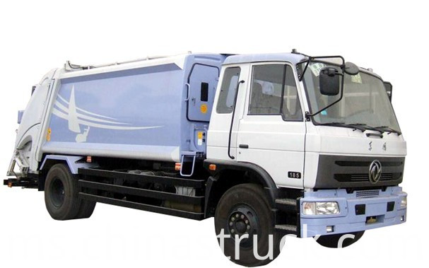 10Ton compression rubbish truck