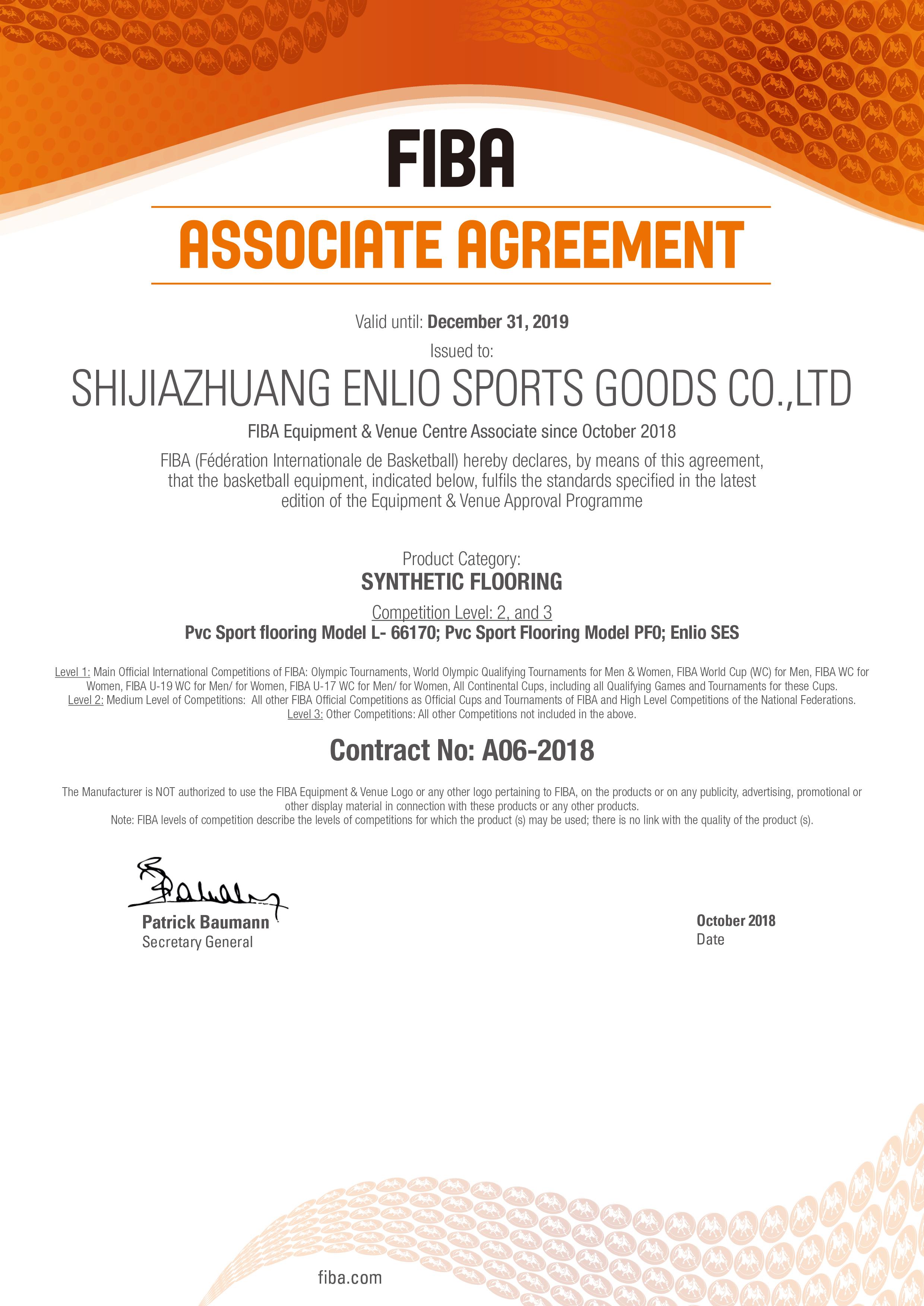 Shijiazhuang Enlio 2019