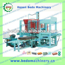 Road paving brick making machine with small invest