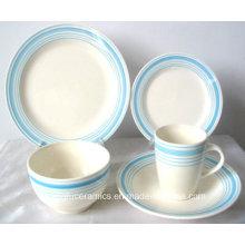 Élégante Vaisselle en Porcelaine Turque (Set)