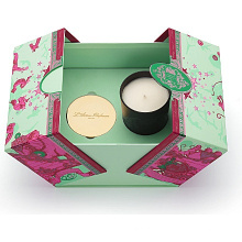 2018 caixas de empacotamento do presente Votive colorido o mais novo da vela