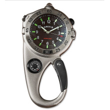 Custom Japan Movement Ultimate Carabiner Compass Watch
