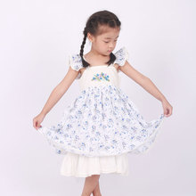 well dressed wolf remake floral ruffle sleeve dress