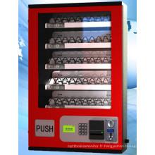 Chaussures de distributeur automatique de vêtements de machine vendent la machine avec le canal réglable de marchandises