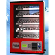 As sapatas da roupa da máquina de venda automática da camisa vendem a máquina com o canal de bens ajustável