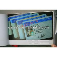 Heißer Verkauf Plastik Namenskartenhalter mit Abzugsbeutel