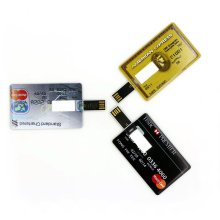 Swivel Business Card Style Usb Flash Drive