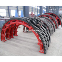 Ball Mill Casting Part Half Gear Ring For Sale