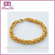 China wholesale 2014 big gold bracelet
