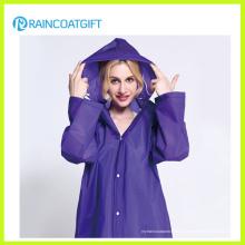 Vêtements de pluie de la mode des femmes légères réutilisables (RVC-053)