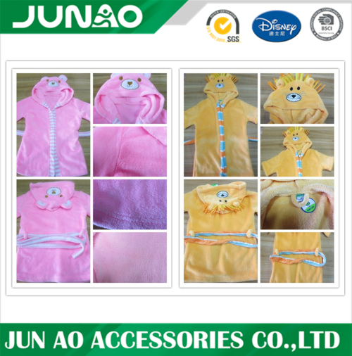 OEM flickor badrockar childrens fleece pyjamas