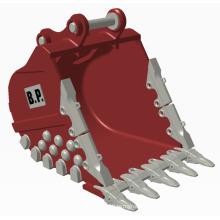 "Generation II 48"" Bucket 1.0 Stere-Light-Including Parts Extra heavy duty type PC200 excavator bucket"