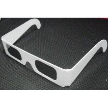Popular White Color Chromad Depth Lens Chromadepth 3d Glasses Accept Custom Printing