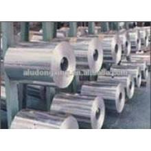 Feuillet en aluminium pour paquet alimentaire