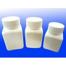 Bouteille de pilule et bouchon en plastique moule