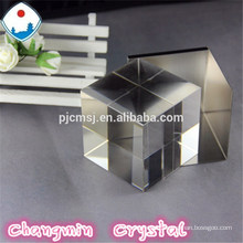 crystal glass cube for color printing,3d crystal glass cube