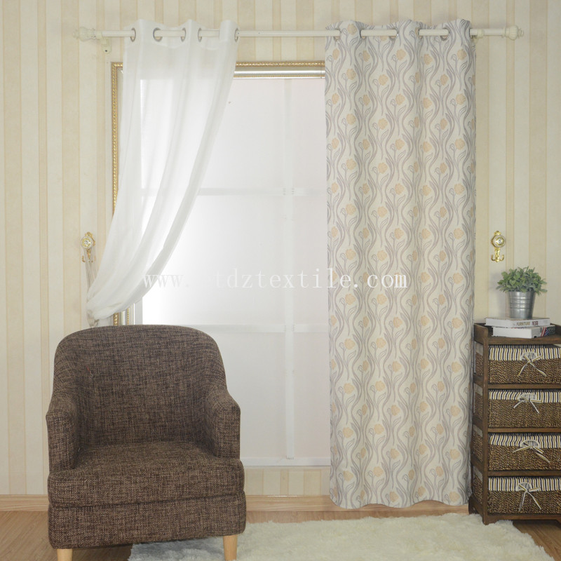 Latest Curtain Design FR2058